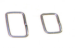 Metal Square Ring by Jyothi Hardware