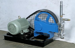 Motorised Hydro Test Pump by Mach Power Point Pumps India Private Limited