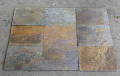 Multi Color Kund Slate Slabs by KK Enterprises