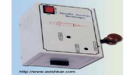 Needle Syringe Destroyer by Avishkar