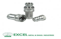 Single Check Valve Quick Release Coupling by Excel Metal & Engg Industries