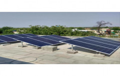 Solar Module Mounting Structure by Createch Fab & Automation