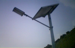 Solar Street Light in College by Radha Energy Cell