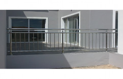 Stainless Steel Balcony Railing by S. R. Ceiling Solution & Interiors