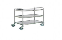 Stainless Steel Trolley for Hotel Industry by Sanipure Water Systems