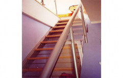 Steel Stairs by Alkraft Decorators Private Limited