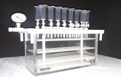 Vacuum manifold for Solid phase Extraction by A One Engineering Works