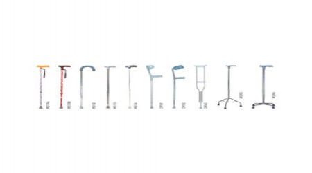 Walking Sticks 4 Leg Imported by Chamunda Surgical Agency