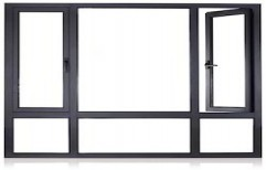 Aluminum Window Frame by Vasan Wood Works