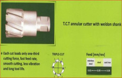 Broach or Annular Hole Cutter 22 by Kwality Era India Private Limited