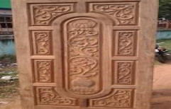 Designer Wooden Door by Security Automation