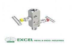Double Block & Bleed Gauge Valves by Excel Metal & Engg Industries