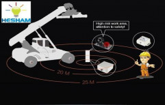 Forklift Anti-Collision Warning Alarm Device by Hesham Industrial Solutions
