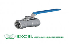 Investment Casting Ball Valve by Excel Metal & Engg Industries