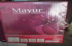 Mayur Dinner Set by Shiv Darshan Sansthan
