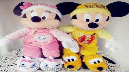 Mickey Mouse Soft Toy by Akhilesh Enterprises