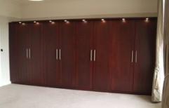 Modular Wooden Wardrobe by M. Decorators