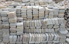 Multi Yellow Sandstone Cobble by Priyanka Construction
