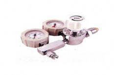Oxygen Regulator with Flow Gauge by Mediline Engineers