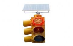 Solar LED Traffic Signal by RayyForce