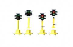 Solar Powered Traffic Signal Light by Multi Marketing Services