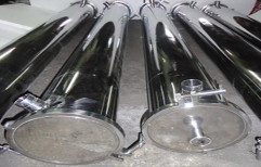 Stainless Steel Membrane Housing by Sanipure Water Systems