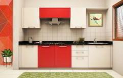 Straight Modular Kitchen by Elements