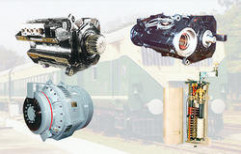 Traction Motors DC by Crompton Greaves Limited