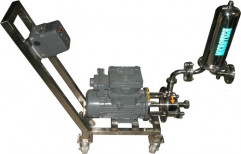 Trolley Type Sanitary Filtration Unit by Micro Tech Engineering