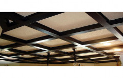 Wooden False Ceiling by S. R. Ceiling Solution & Interiors
