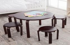 Wooden Table and Chairs by Shree Balaji Enterprises