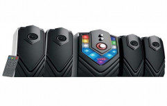 4.1 Channel Multimedia Speakers (Black) by Shiv Darshan Sansthan