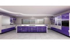 Acrylic Modular Kitchen by Sunrise Kitchen Decor