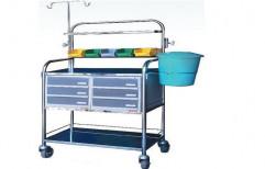 ICU Crash Chart Trolley by I V Enterprises