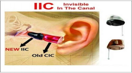 Invisible In The Canal (IIC) Hearing Aids by Navale Speech & Hearing Clinic