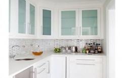 Kitchen Glass Wardrobe by Sunrise Kitchen Decor