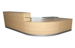 Office Reception Table by Raaghavi Associates