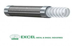 PTFE Hose With Stainless Steel Braid by Excel Metal & Engg Industries