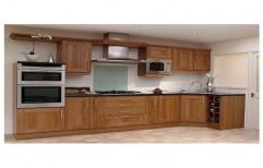 Rubberwood Kitchen Shutter by Raaghavi Associates