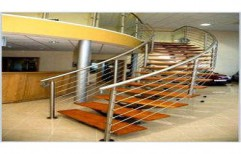 SS Staircase Railing by Ankit Enterprises