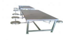 Stainless Steel Canteen Table by Sanipure Water Systems