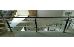 Stainless Steel Glass Railing by Alkraft Decorators Private Limited