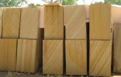 Teak Wood Sand Stone by Priyanka Construction