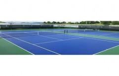 Tennis Court Mat by Sajj Decor