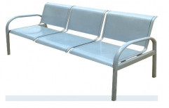 Three Seater High Back Waiting Chair by I V Enterprises