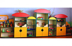Toy Storage Cabinet by Four Corner's Interiors