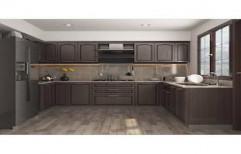 U Shape Modular Kitchen by Sunrise Kitchen Decor