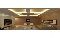 Gyproc False Ceiling by S. R. Ceiling Solution & Interiors