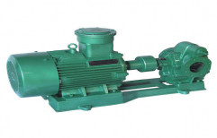 Hot Oil Transfer Pump by Forcdyno