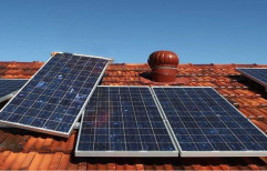 Industrial Rooftop Solar Power System by Sunya Shakti Manufacturer LLP